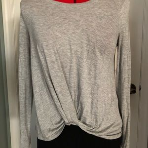 Anthropologie On The Road Agency Twist Front Top